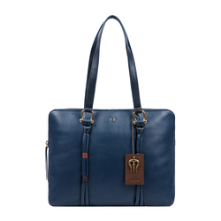 MOKSHA 02 WOMENS HANDBAG THICK LAMB,  midnight blue