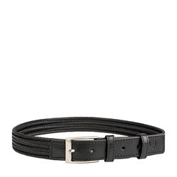 Torino Men's belt, m,  black
