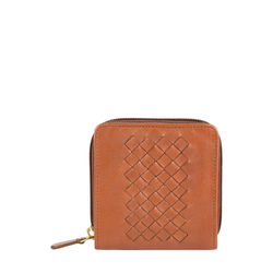 TRECCIA W2 (Rf) Women's Wallet,  tan