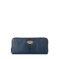 Angara W2 (Rfid) Sb Women's Wallet, Snake,  midnight blue