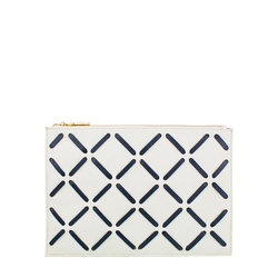 Kochab W3 Women's Wallet, Cow Deer Melbourne Ranch,  white