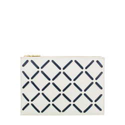 Kochab W3 Women's Wallet, cow deer,  white