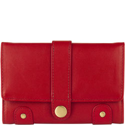 Intercato 10 (Rfid) Women's Wallet, Roma,  red