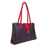 Sb Silvia 02 Ge Tote,  midnight blue, lamb