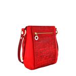 Nakasu 03 Women s Handbag, Melbourne Croco,  red