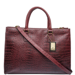 Kester Women s Handbag, Croco,  red
