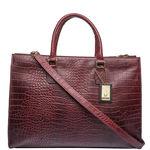 Kester Women s Handbag, Croco,  red