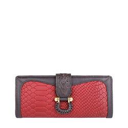 Ee Frieda W1 Women's wallet, Snake,  marsala