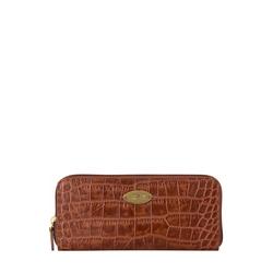 Mackenzie W2 (Rfid) Sb Women's Wallet, Croco,  tan