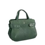 Brigitte 02 Women s Handbag Cow,  emerald green