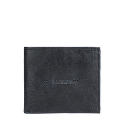288-L103F RF MENS WALLET E. I GOAT,  black