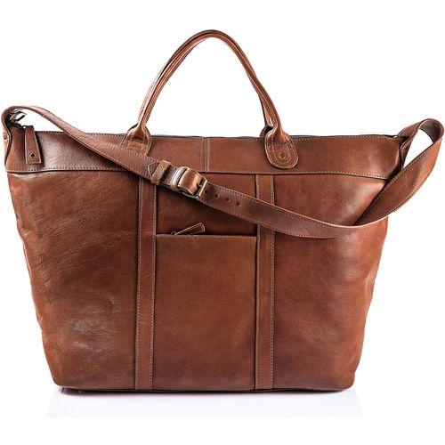 RobertoTravel bag, soweto,  brown
