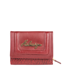 Hanbury W3 (Rfid) Women's Wallet, Lizard Ranch Maori,  red