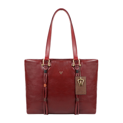MOKSHA 01 WOMENS HANDBAG THICK LAMB,  red