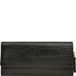 526 Women's Wallet, croco,  black