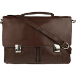 Slider 02 Briefcase,  brown, khyber