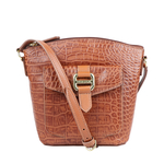 LOTUS 01 SB WOMENS HANDBAG CROCO,  tan