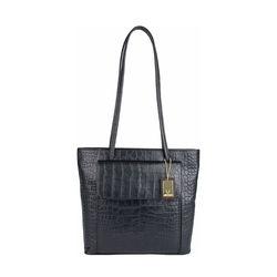 Tovah 4310 Women's Handbag, Croco,  black