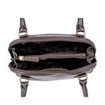 Ee Cleo 02 Women s Handbag, Croco,  brown