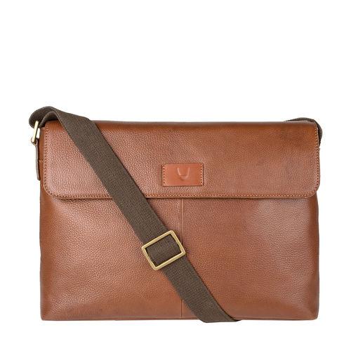 PLUTO 01 SB Messenger Bag,  tan