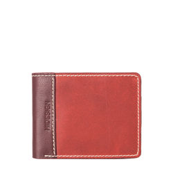 309 2020[ Rfid] Sb Men's Wallet, Waxed Split,  marsala