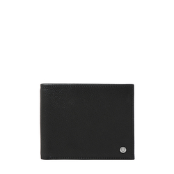 EE SIRIUS W1 RF MENS WALLET REGULAR PRINTED,  black