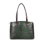 Scorpio 02 Sb Women s Handbag Croco,  emerald green