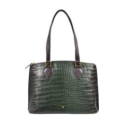 Scorpio 02 Sb Women's Handbag Croco,  emerald green