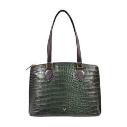 Scorpio 02 Sb Women's Handbag, Croco Melbourne Ranch,  green