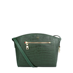 Bonnie 02 Women's Handbag, Croco Melbourne Ranch,  emerald green