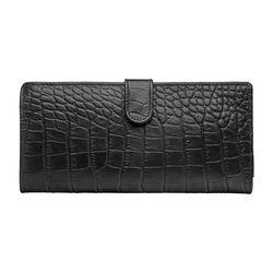 486 Men's Wallet, Croco,  black