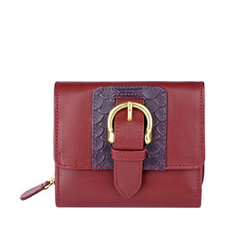 Shanghai W3 Sb Women's Wallet, Melbourne Ranch Snake,  red