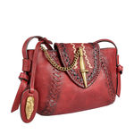 Swala 04 Women s Handbag, Kalahari Mel Ranch,  red