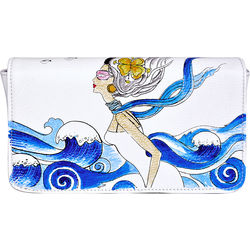 St Tropez 03 Women's Wallet,  white