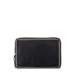 Jean 02 Storage Box, Canvas,  black