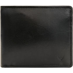490 Men's wallet, khyber,  black