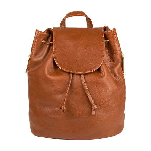 Leah Backpack,  tan, ranchero