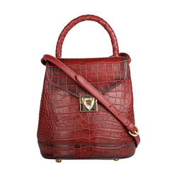 EPOCCA 01-CROCO-RED MARSALA,  red