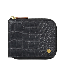 341 017 RF SB MENS WALLET CROCO,  black