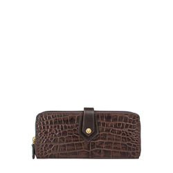Hongkong W2 Sb (Rfid) Women's Wallet Croco,  brown