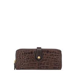 Hongkong W2 Sb (Rfid) Women's Wallet Croco,  brown