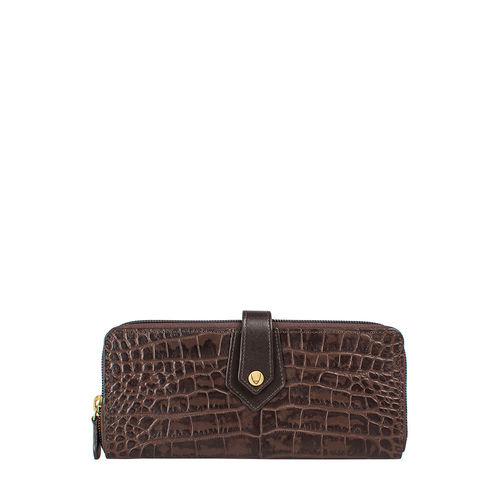 Hongkong W2 Sb (Rfid) Women s Wallet Croco,  brown