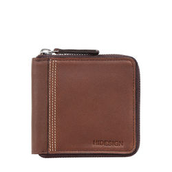 311 3030 Sb (Rfid) Men's Wallet Wax Split,  brown