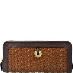 Ara W2 Women's Wallet,  tan, woven