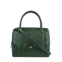 Hong Kong 03 Sb Women's Handbag, Lizard Melbourne Ranch,  emerald green