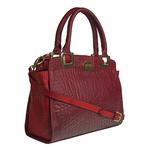 Claudia 02 Women s Handbag, Elephant Cement Pebble,  red