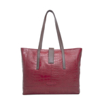 Sb Atria 01 Women s Handbag, Croco Ranchero Red Brown,  red
