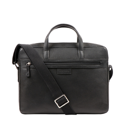 EE LUKA 01 MESSENGER BAG MANHATTAN,  black