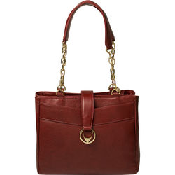 Azha 02 Handbag, ranchero,  red