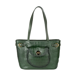 Croco 03 Women's Handbag, Croco Melbourne Ranch,  green